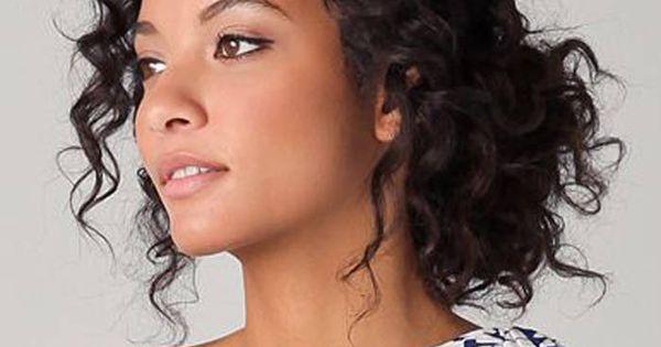 Coiffure cheveux fris s chignon cheveux fris s nos - Coiffure cheveux frises ...