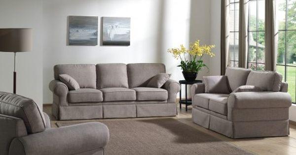 Salon Complet Salvadore En Tissu Canape 3 Places Et Canape 2 Places Sofa Home Decor Sala