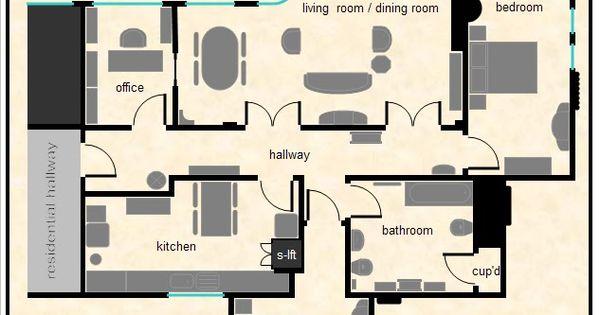 Poirot S Apartment Diagram Quot Whitehaven Mansions