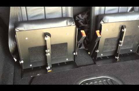 3rd row Jeep Wrangler Unlimited Seating from ...