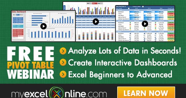 Click To Register For Free Now Microsoft Excel Microsoft Excel Tutorial Excel Tutorials