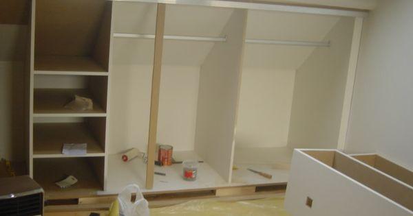 Slaapkamer Lage Kasten : schuine kasten zolder Kamer boven Pinterest ...