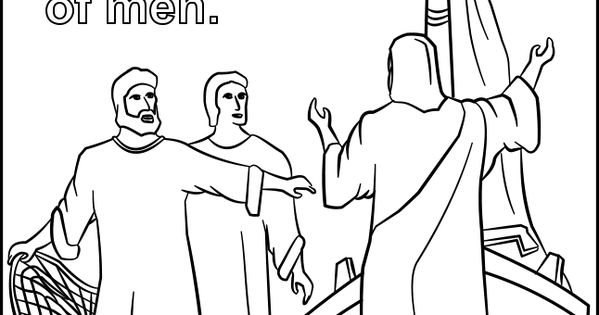 fisher of men coloring pages - photo#21
