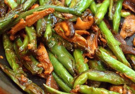 Szechuan green beans, Green beans and Beans on Pinterest
