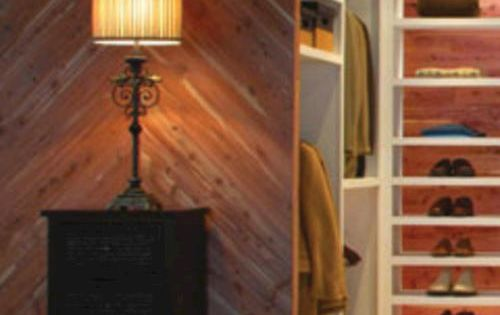 American Pacific Red Cedar Closet Liner Plank 15sq Ft At