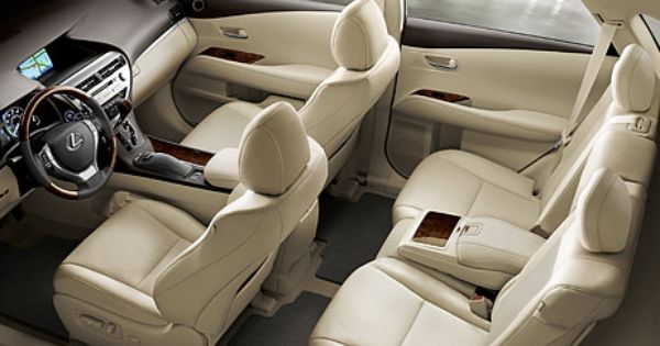 2013 Lexus Rxh Hybrid Interior Shown In Available Parchment