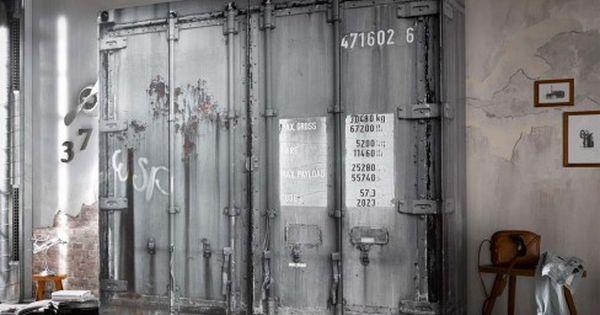Pol Power Container Schrank Grau 4 Turig Mobel Letz Ihr Online Shop Schrank Zimmer Loft Mobel Haus