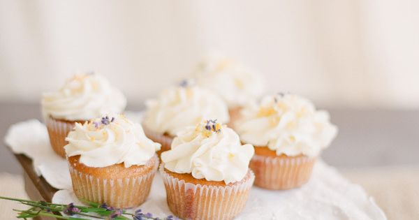 lavender pumpkin cupcakes