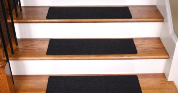 Best 75 Amazon Com Dean Carpet Stair Treads 23 X 8 Black 640 x 480