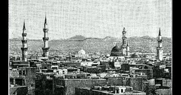 Madinah Of Old 3 Old Photos Ancient Mexican Civilizations Medina