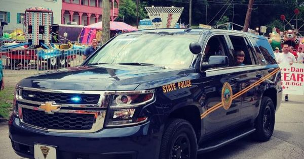 West Virginia West Virginia State Police Chevy Tahoe Police