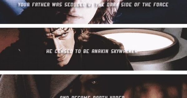 Anakin S Fate He Ceased To Be Anakin Skywalker And Became Darth