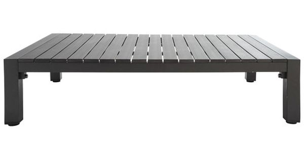 Emejing Table De Jardin Alu Imitation Bois Contemporary - Nettizen ...