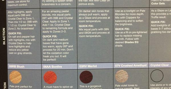 Redken Shades Eq Hidden Gems Color Techniques