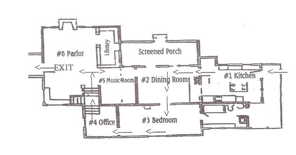 Laura Ingalls Wilder Home Floor Plan