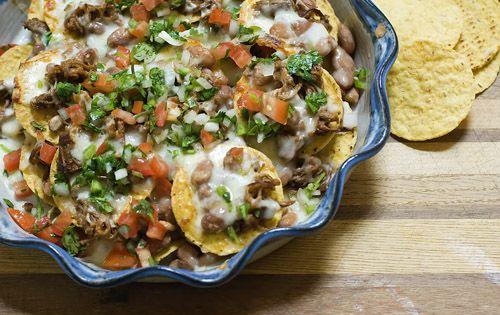Cowboy Nachos | Recipe | Dinner tonight, Smoked brisket ...
