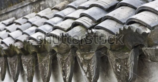Traditional Chinese Roof Tile Clay Roof Tiles Roof Tiles Clay Roofs
