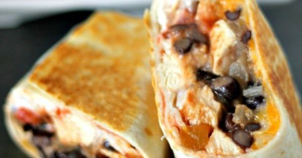 20 Minute Chicken Burrito Recipe | KansasCityMamas.com
