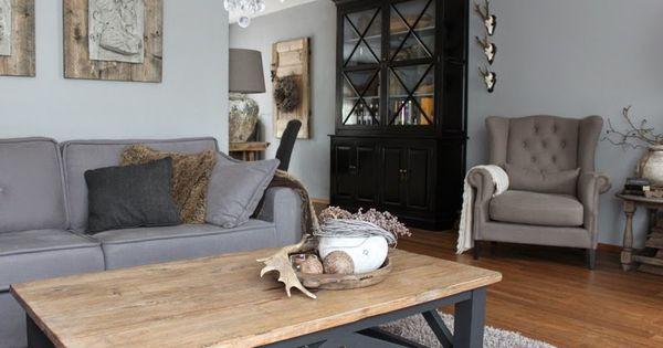 Thuis bij huis haard het hoekje om livingroom pinterest haard thuis en landelijk wonen - Haard thuis wereld ...