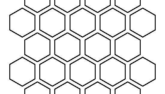 1 5 inch hexagon template - 1 5 inch hexagon pattern use the printable outline for