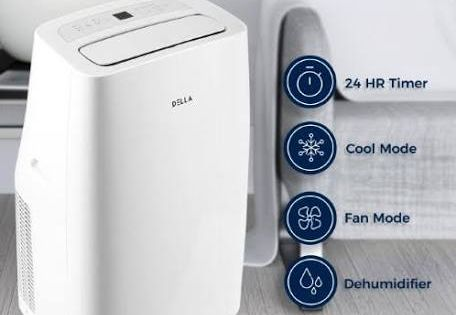 The Best Air Conditioner Deals For September 2020 Lg Frigidaire Honeywell Digital Trends Portable Air Conditioner Quiet Portable Air Conditioner Dehumidifiers