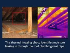 Water Damage Inspections Drytech Leak Detection Group Thermal Imaging Thermal Imaging Camera Plumbing Vent