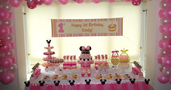 Image detail for -Cutest Minnie Mouse Party Ideas