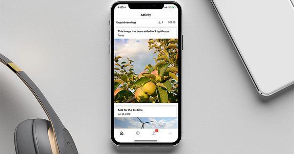 Shutterstock S Contributor App Has Never Looked Better Aplikasi
