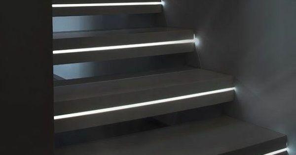 Escalier Int Rieur Quelques Id Es D 39 Clairage Moderne Led Design Et Interieur