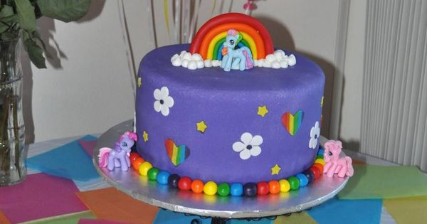 My Little Pony Birthday Cakes At Walmart Terms My Little