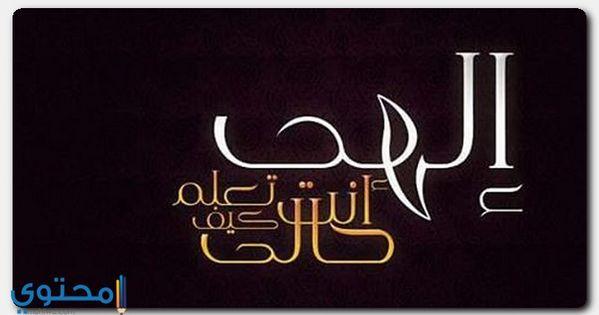 دعاء إلهي أنت تعلم كيف حالي كامل ادعية اسلامية الانشاد الديني العفاسي Neon Signs Signs Arabic Calligraphy