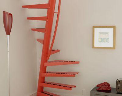 Un Metre Carre Pour Un Escalier Escalier Gain De Place Escalier