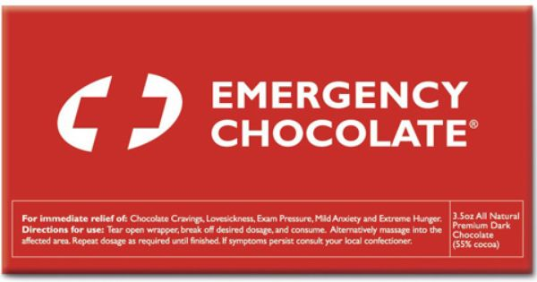 Emergency Chocolate Chocolate Chocolate Quotes Words