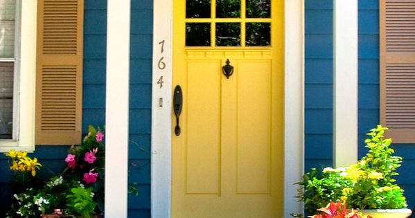 images of yellow paint colors for exterior | ... » Sunny Exterior