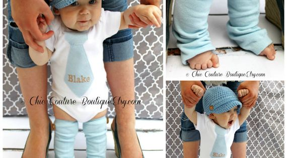 NEW Baby Boy 1st Birthday Outfit. Blue by ChicCoutureBoutique