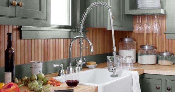 Country Kitchen - Kitchen Designs - Farmhouse sink