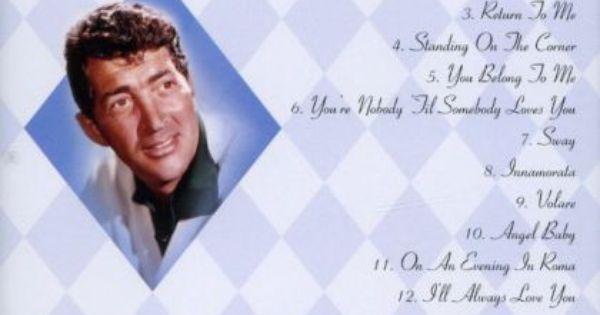 Dean Martin Songs Dean Martin Greatest Hits Dean Martin Songs