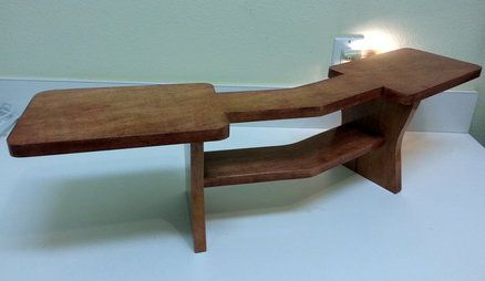 Desk Stand For Dual Monitors Wood Working Pinterest