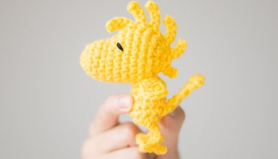 See the making of this amigurumi Woodstock (pattern from ...