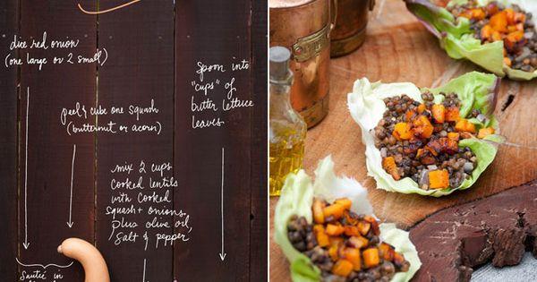 Lentil Lettuce Cups (Recipe) http://www.foodmatters.tv/content/lentil-lettuce-cups-recipe