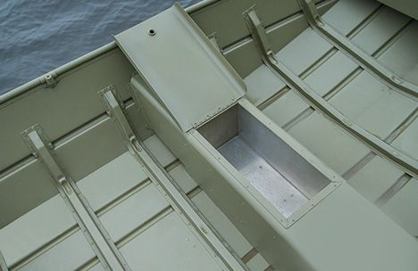 Jon Boat Bench Seat Storage Google Search Jon Boat Jon Boat Modifications Seat Storage