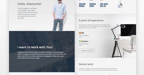 Introduction Cv Design Creative Creative Cv Best Landing Pages