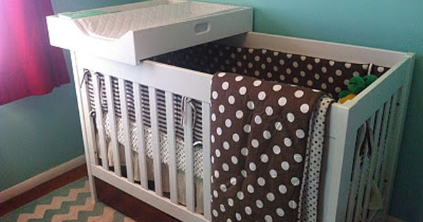 Jenny Free Style Our Changing Station Crib Topper Diy Crib Baby Room Storage Baby Room Diy