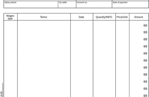 Free Payslip Template Word Payslip Software Singapore Format – Payslip Templates