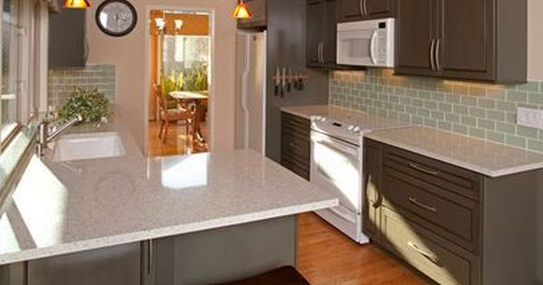 Ideas To Paint Kitchen Cabinets A Gray Colour With White Appliances And Light