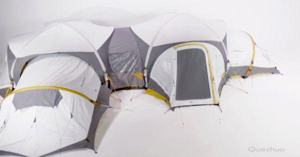 Camping Zelt Quechua : Quechua msh decathlon tent tente gonflale camping my