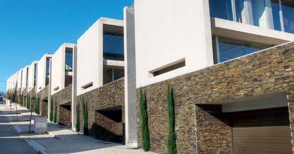 Resultado de imagen de dos tipos piedras pared jardin - Tipos de piedras para fachadas ...