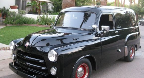 1954 Dodge Panel Truck. | Pickups Panels & Vans (Original) | Pinterest | Dodge, Vans and Cars