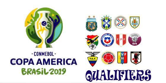 Copa America 2019 Qualifiers America Fox Sports Teams