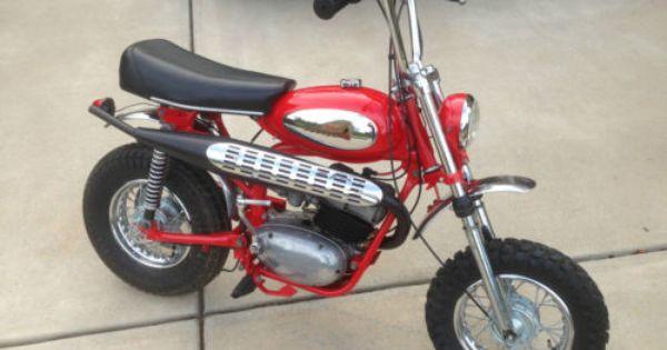 Indian Bobcat 100cc Mini Bike Extremely Rare Mini Bike Bike Pit Bike